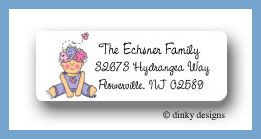 Hannah Bloom return address labels personalized