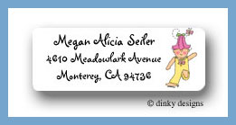 Tilly Bloom return address labels personalized,