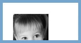 Custom photo return address labels personalized square image