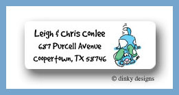 Snips & snails return address labels personalized