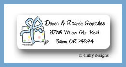 Great expectations present return address labels personalized