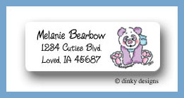Great expectations return address labels personalized