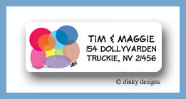 Seeing spots return address labels personalized