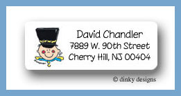 Cadet Charlie return address labels personalized