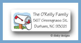 You've got mail return address labels personalized