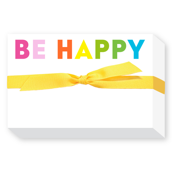 Be happy notepads