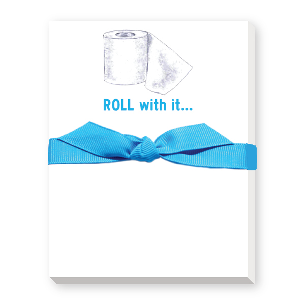 roll with it notepads