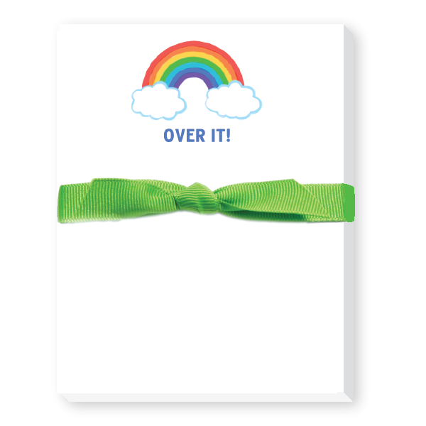 Over it notepads