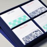 Silk Box Stationery Set - Grande by Haute Papier Collections