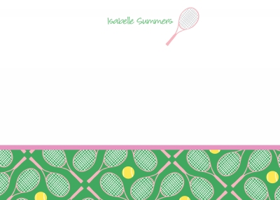 Tennis Note Cards
