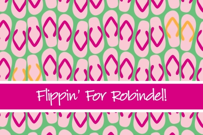 Flip Flops Post Card by iDesign Paper - Discounted