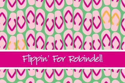 Flip Flops Post Card