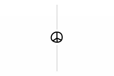 Peace & Love Post Card 1