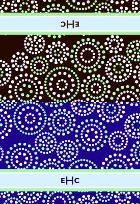 Swirls Folded Note Card