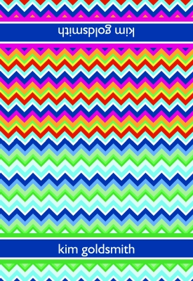 Zig Zag Folded Note Card