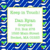 Hockey Keep In Touch Card by iDesign Paper - Discounted