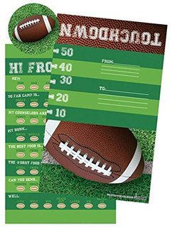 Iscream football fill in selfmailers