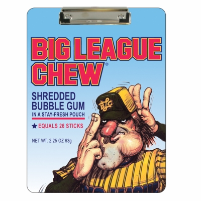 Big League Chew Clipboard