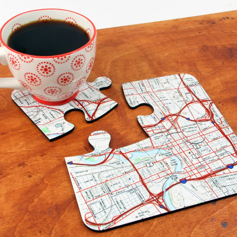 Coasters with Cup