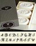 Soaps with Initial - set of 3 boxed