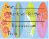 Mudpie thank you fill in note cards
