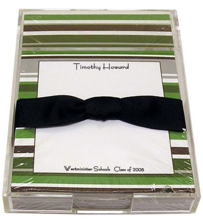 Green and Silver Stripe