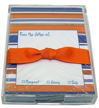 Orange and Blue Stripe