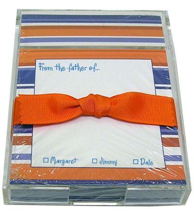Orange and Blue Stripe