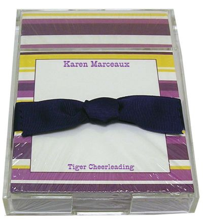 Purple and Gold Stripe