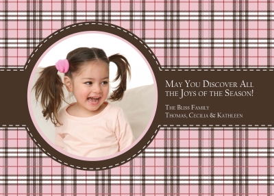 Pink and Brown Plaid PC