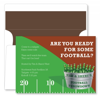 Football Bucket of Beer by Noteworthy Collections