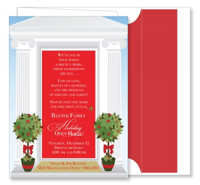 Holiday Open House Red Door