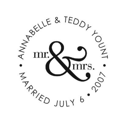Mr & Mrs Stamp