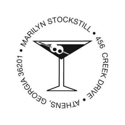 Martini Stamp