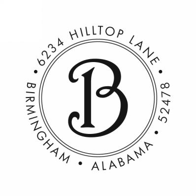 Harrington Initial Stamp
