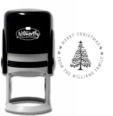 Holiday Tree 2 Stamp