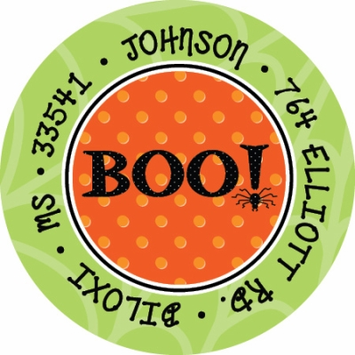 BOO! Label