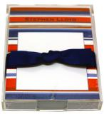 Red and Blue Stripe Discounted Paper by Noteworthy Collections