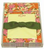 Oak Leaf Floral Discounted Paper by Noteworthy Collections