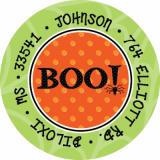 BOO! Label Noteworthy Collections Coordinating Return Address Label