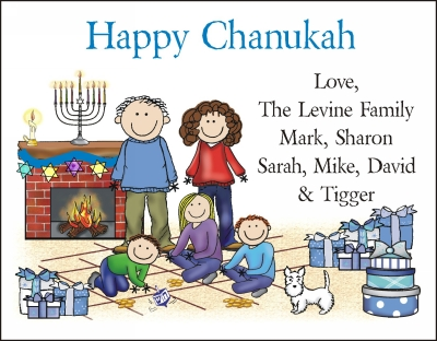Chanukah Cards 6