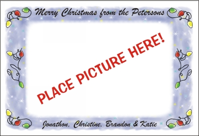 Christmas Photo Cards  Flat 2 by Pen At hand