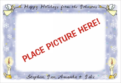 Christmas Photo Cards  Flat 3 by Pen At hand