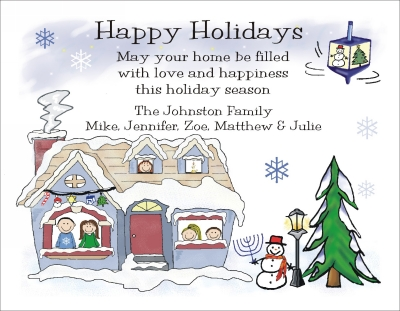 Chanukah and Christmas Cards 6