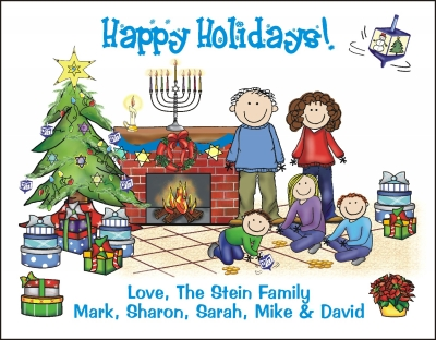 Chanukah and Christmas Cards 9