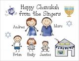 Chanukah Cards 2 by Pen At hand