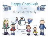 Chanukah Cards 5 by Pen At hand