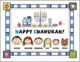 Chanukah Cards 7 by Pen At hand
