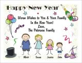 New Year Cards-2 by Pen At hand