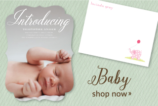 Baby and Kids Personalized Stationery